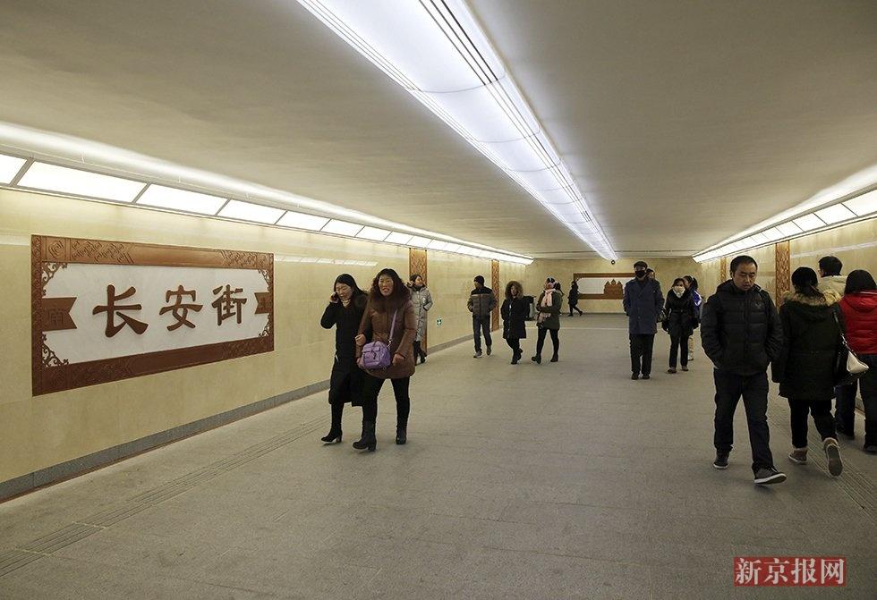 北京27座地下通道换装