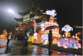 看重慶最美燈光秀 寫作文登報還有獎