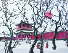 老北京雍和宫庙会什么样?