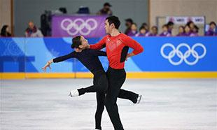 中国花样滑冰队备战平昌冬奥会