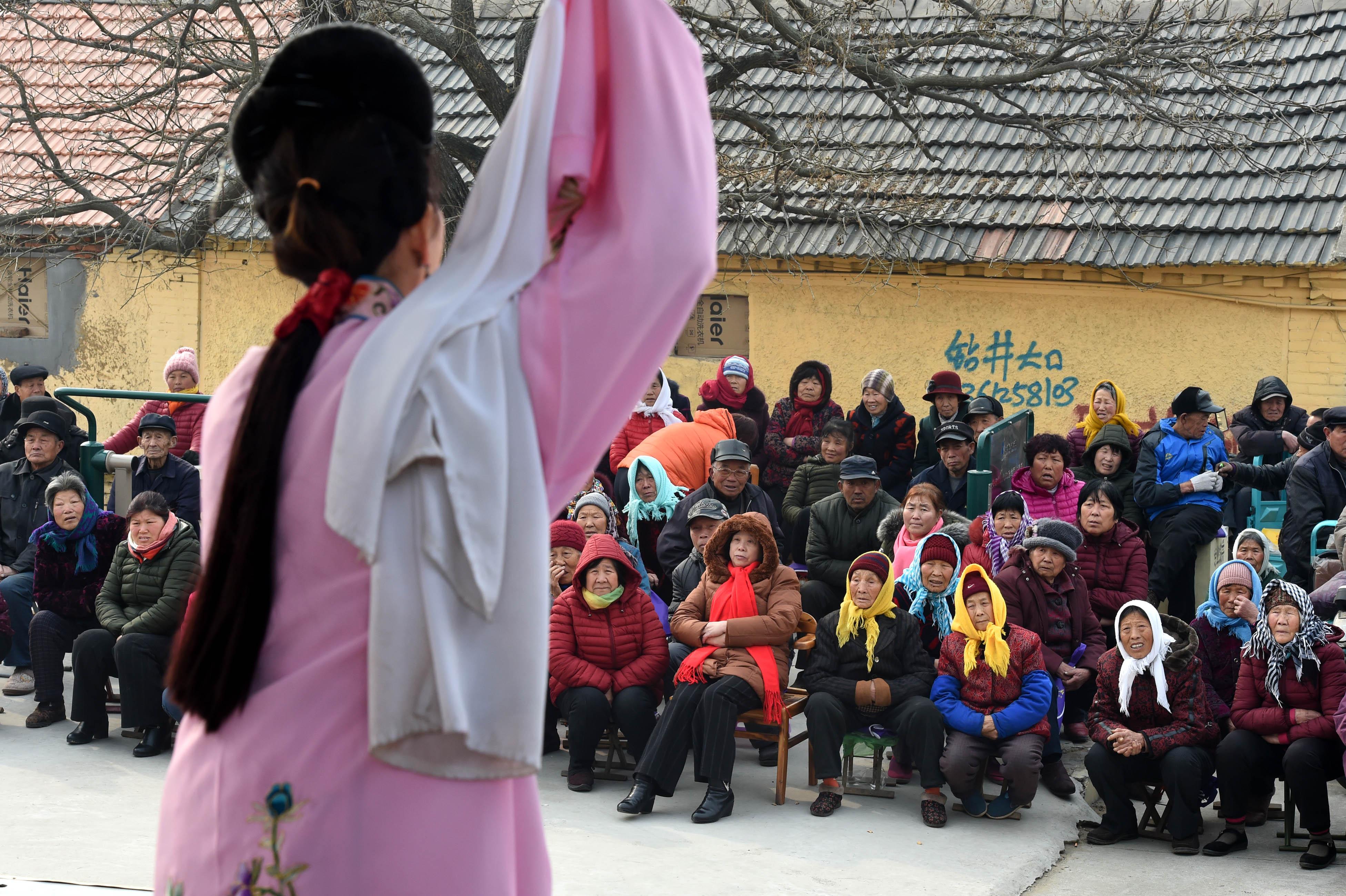 莱西:新春惠民 文化下乡