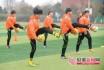 郯城一中、郑州九中出征世界中学生五人制足球锦标赛