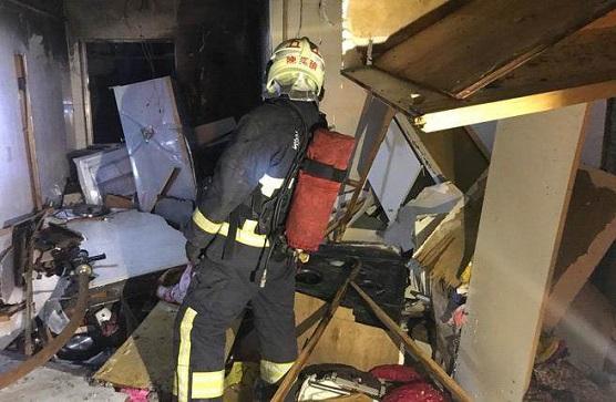 台新北公寓凌晨燃气爆炸致2死5伤 或女子轻生引爆