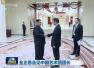 中国艺术团在平壤参谒中朝友谊塔 缅怀志愿军烈士