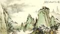 林泉清话——姜金军师生山水画作品展在山东寿光市举行