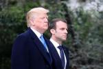 """马克龙想让法国""""重新伟大"""",他要先过特朗普这一关"""