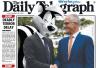 """用""""美味""""赞美澳总理夫人 马克龙被澳媒以""""臭鼬""""调侃"""