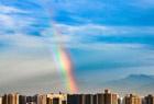 西安又见双彩虹