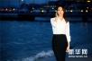 苗苗携新片《六月的秘密》亮相戛纳 白衫黑裙致敬巩俐