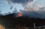 【组图】大理苍山突发森林火灾 火势染红夜空