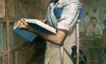 中国嘉德春拍推伤痕美术代表作艾轩《有志者》