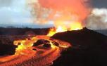 火山喷发后下起宝石雨