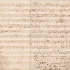 莫扎特原稿拍卖