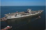 """美军首艘核动力航母""""企业""""号拆解费恐将超过10亿美元"""