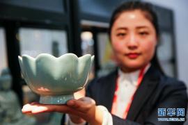中国工艺美术大师孟玉松汝瓷艺术成就展开幕