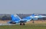 乌克兰一架苏-27战斗机失事 带着美国军人坠毁