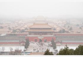 第三场雪!北京今日飘雪最高温-3℃ 道路湿滑易结冰