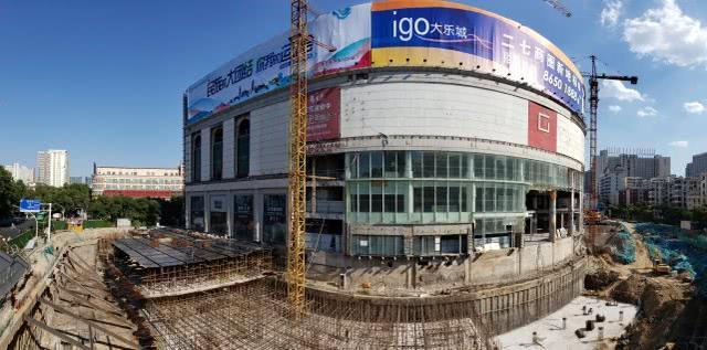 """原百盛改建""""大乐城""""!投资10亿元,欲成为郑州二七商圈新地标"""