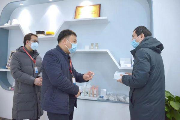 西安高新食药监分局助力点云生物医用口罩生产5