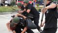 福州昨日上演两场应急救援演练 数百人亮真功夫
