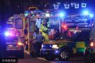 实拍伦敦恐怖袭击现场 警方向犯罪嫌疑人开火