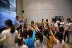大连甘区交警积极为学前班儿童进行交通安全教育