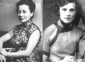 嫁进蒋介石家族的美女