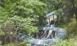 台州1山村建全国首个九曲玻璃水滑道 全长210米(图)