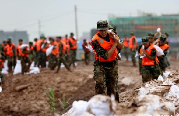武警金华支队:百余名官兵火速奔赴抗洪抢险一线