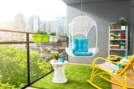 享受生活 让阳台成为氧吧