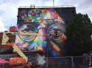 最令人惊艳的街头艺术:布里斯托尔Upfest艺术节