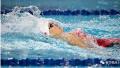 """全国游泳冠军赛:傅园慧晋级100自决赛 高呼""""亚运会见"""""""