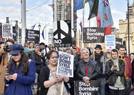 伦敦举行反战游行