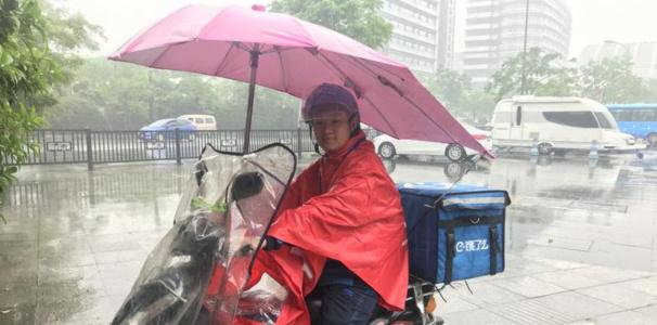 """""""无声骑手""""上路首日收到杭州的友好,曾经历被拒绝和沟通烦恼"""
