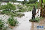 肯尼亚持续降雨引发洪灾 超过21万人流离失所