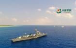军警民联合编队首次巡逻西沙岛礁,历时5天4夜