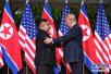 """特朗普:不再面临朝鲜的""""核威胁"""" 感觉省钱又安全"""