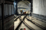 杭州地铁7号线吴山广场站真容出炉 还将建地下城