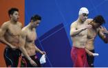 亚运会第二日中国再获8金:中日男队泳池大战战况激烈