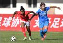 足球——女超联赛:长春农商银行平江苏苏宁