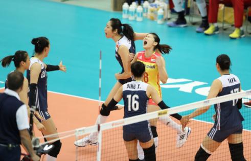 鏖战5局!女排世锦赛中国队3:2再胜美国队