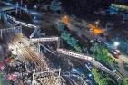 台湾铁路列车发生出轨事故
