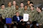 """美媒稱特朗普在軍中支持率正在下降:其性情成""""槽點"""""""