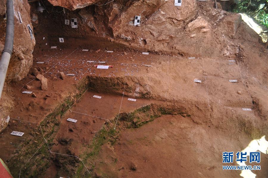 (图文互动)(4)河南栾川发现3万至4万年前古人类用火遗迹