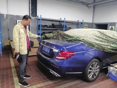 """郑州奔驰车被换""""三无""""中缸 被罚20万余元"""