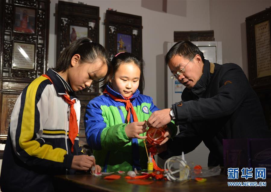(图片故事)(9)张俊涛:让更多人了解传统灯笼文化