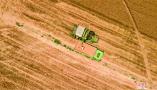 鹤壁市麦收进度超七成