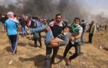 【组图】加沙地带再现冲突致3人死亡 近900人受伤